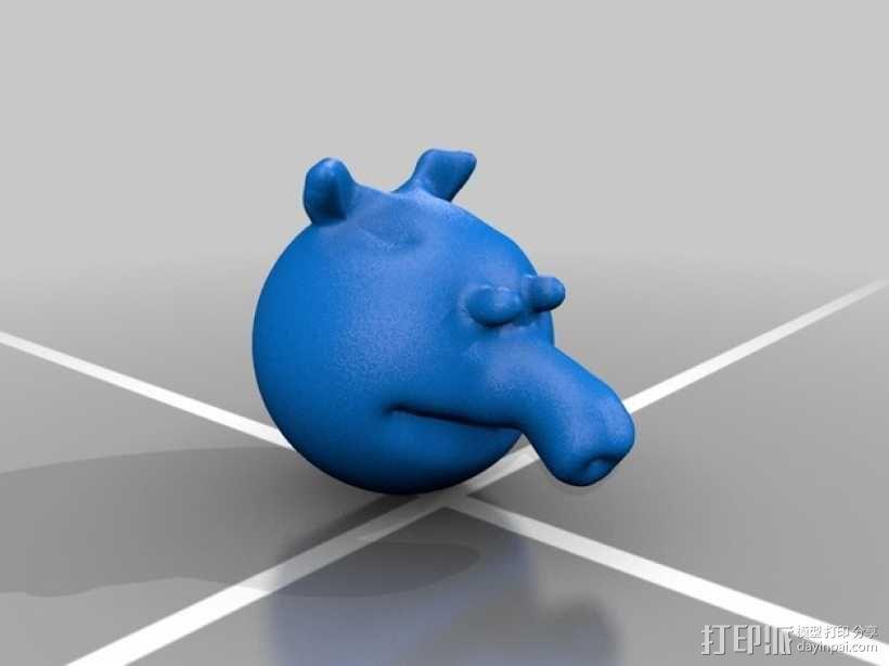 粉红小猪妹 3D模型  图2