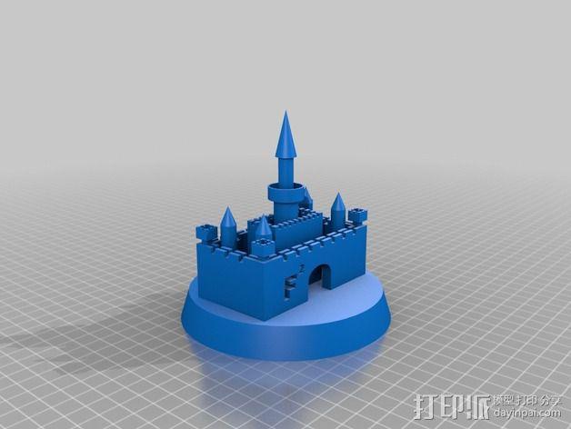 Faizan城堡 3D模型  图2