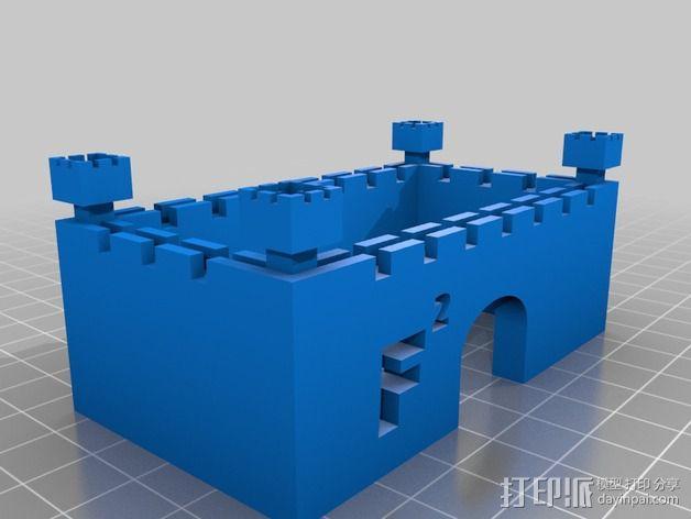 Faizan城堡 3D模型  图7