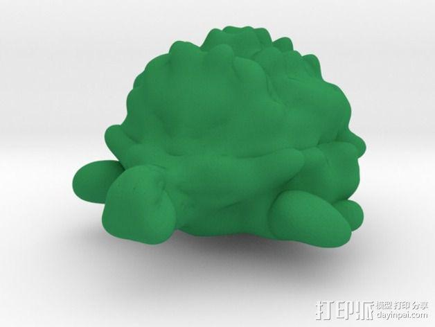 海龟 3D模型  图1