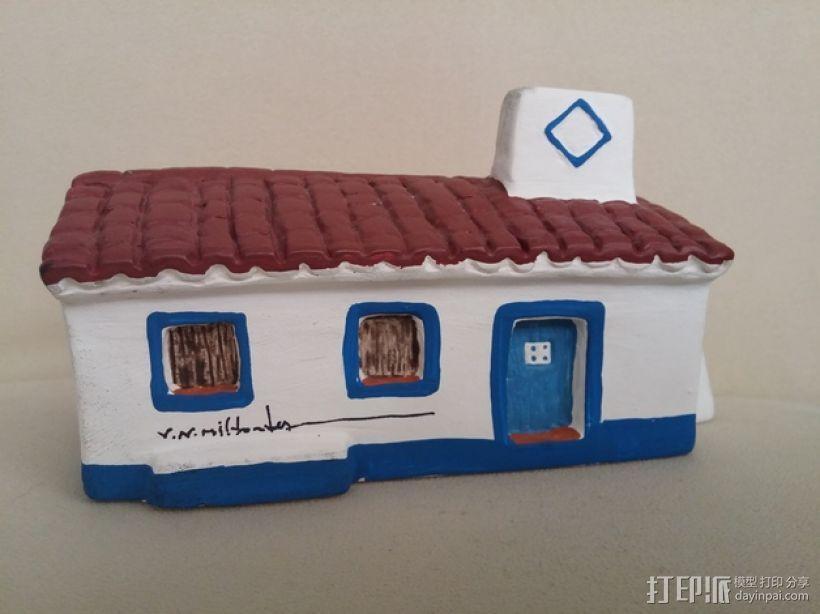 Mil Fontes 房屋 3D模型  图1
