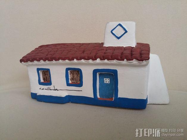 Mil Fontes 房屋 3D模型  图2