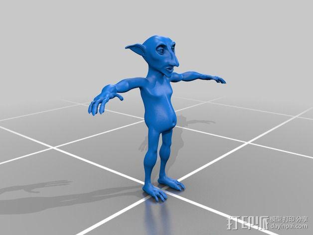 哥布林 3D模型  图2