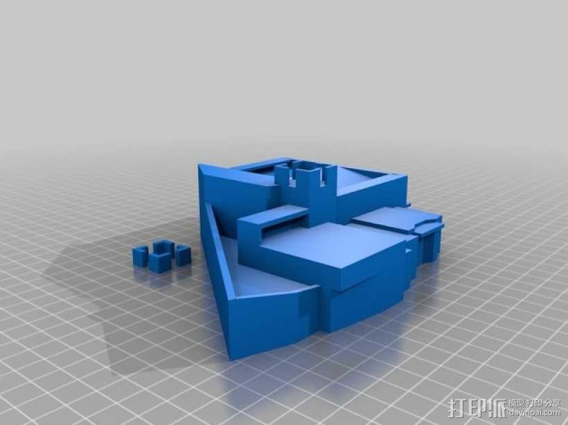 大加纳利岛教堂 3D模型  图2