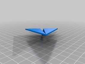 纸飞机 3D模型