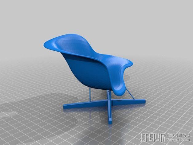 贵妃椅 3D模型  图3