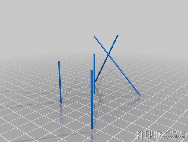 贵妃椅 3D模型  图5