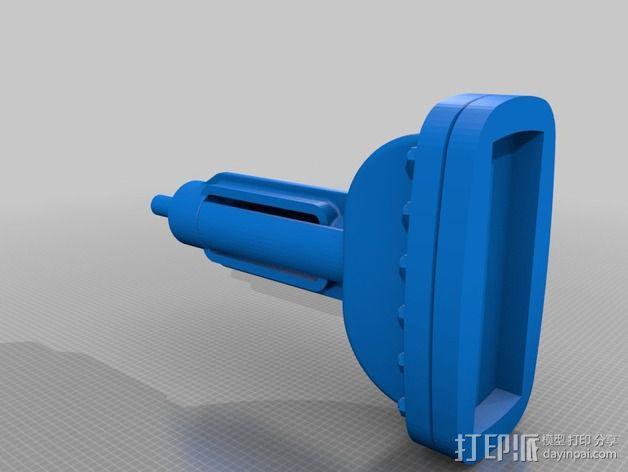 中亚闸阀 3D模型  图3