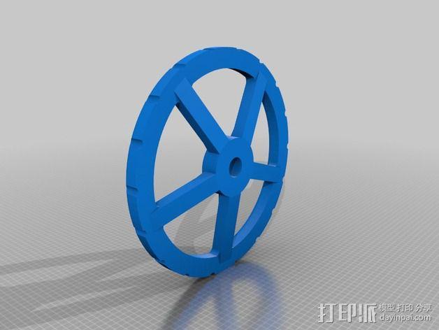中亚闸阀 3D模型  图4