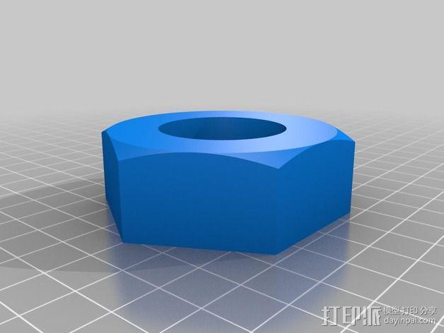 中亚闸阀 3D模型  图5
