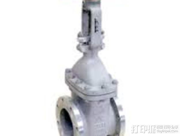 中亚闸阀 3D模型  图6