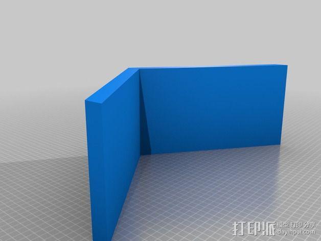 底层架空房屋模型 3D模型  图2