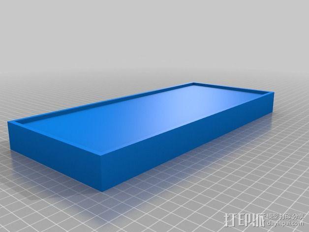 底层架空房屋模型 3D模型  图5