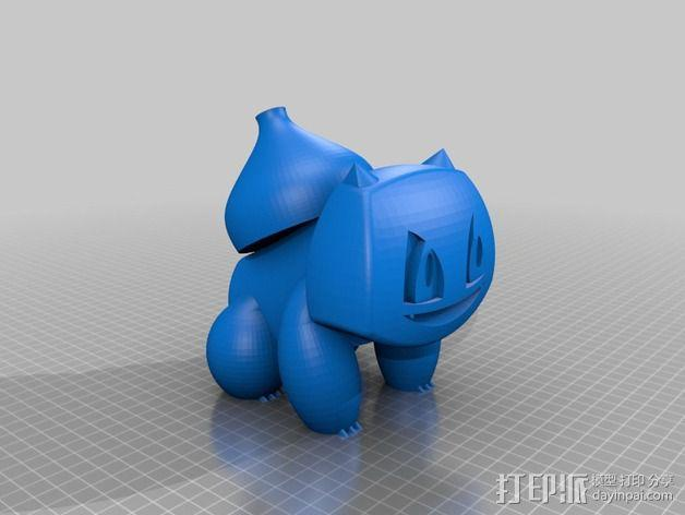 妙蛙种子 3D模型  图2