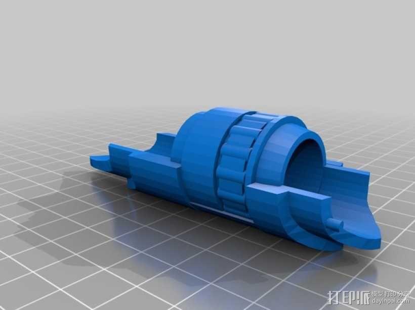 RWBY 护臂 3D模型  图4