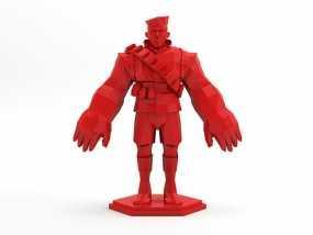 军团要塞 士兵模型 3D模型