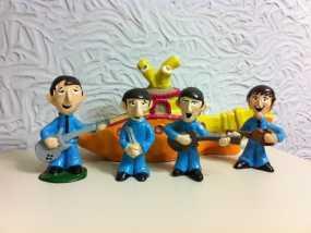 甲壳虫乐队和黄色潜水艇 3D模型