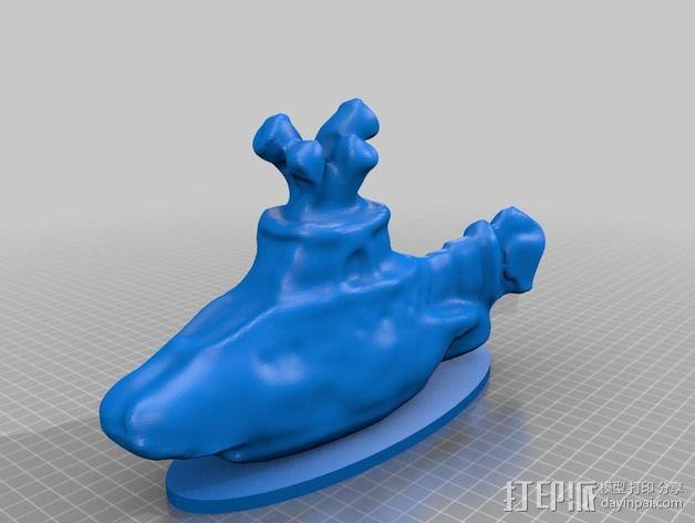 甲壳虫乐队和黄色潜水艇 3D模型  图4