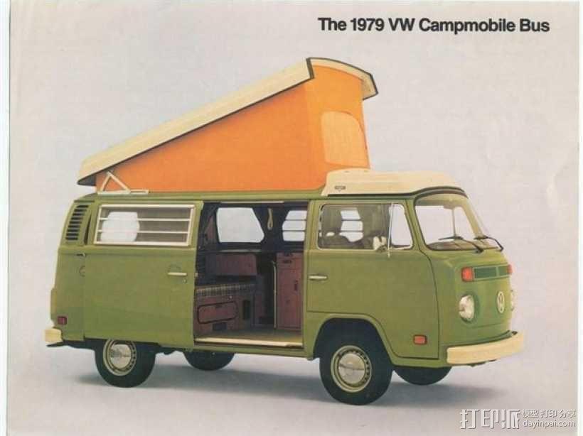 露营车 巴士 3D模型  图3