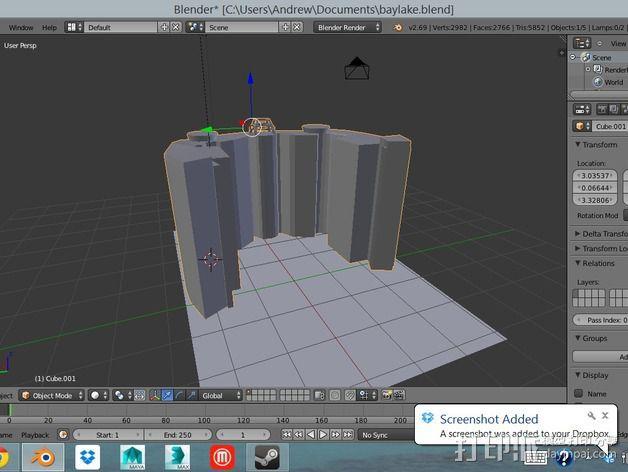 迪士尼当代酒店和湾胡塔 3D模型  图4