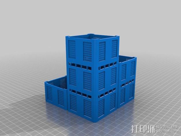 货架 笔筒 3D模型  图2