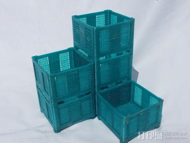 货架 笔筒 3D模型  图3