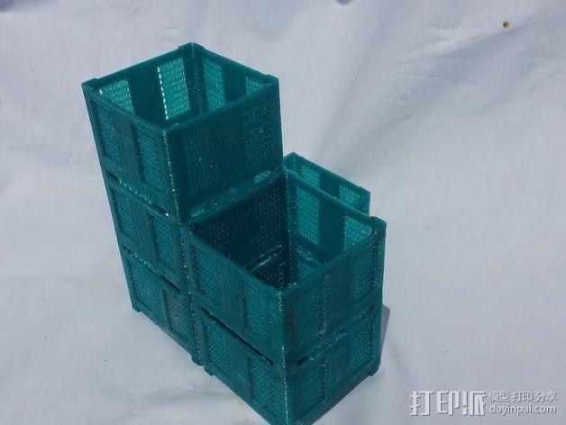 货架 笔筒 3D模型  图4