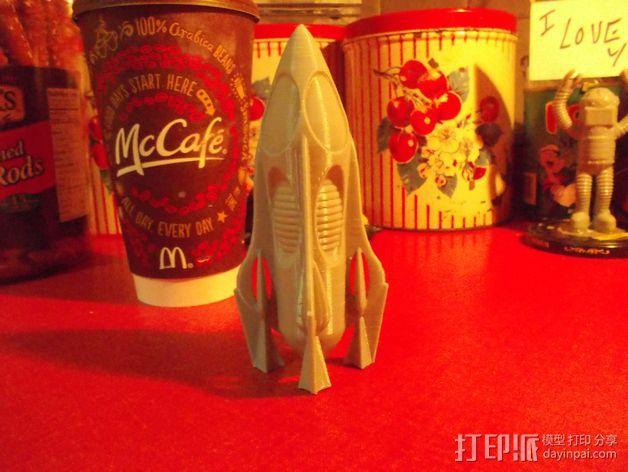 火箭  3D模型  图5