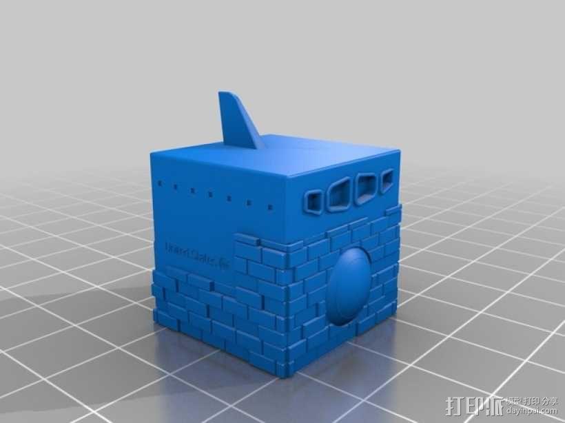 航天飞机 太空穿梭机 3D模型  图1