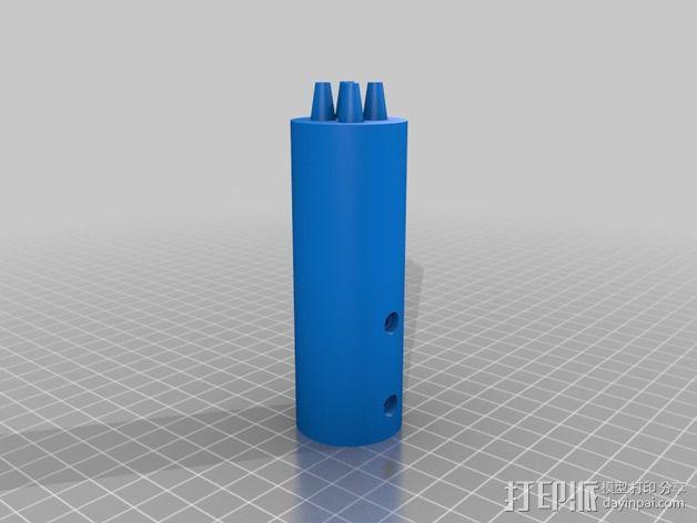 狼牙棒棒头 3D模型  图2