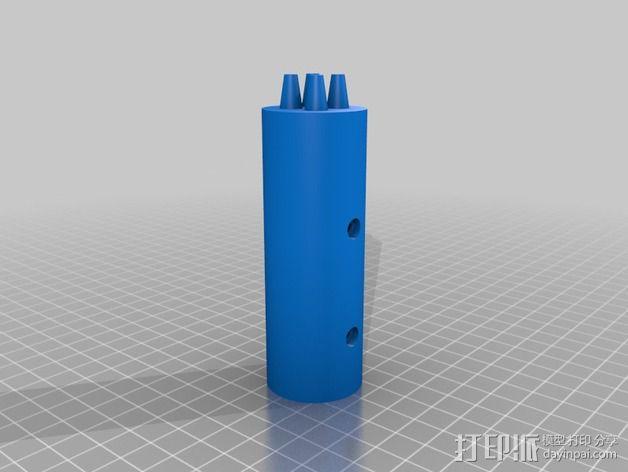 狼牙棒棒头 3D模型  图5