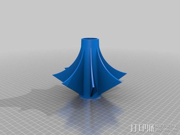 狼牙棒棒头 3D模型  图4
