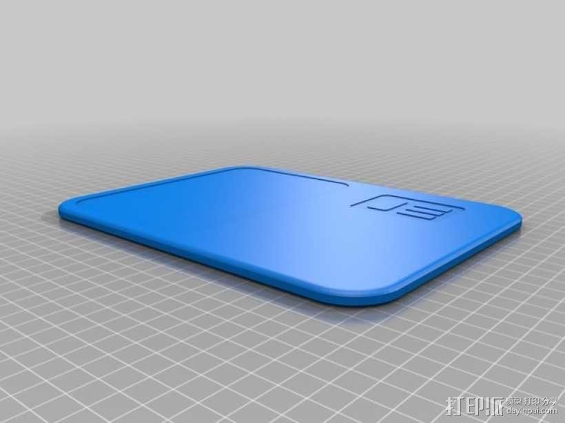 星际争霸平板 3D模型  图1