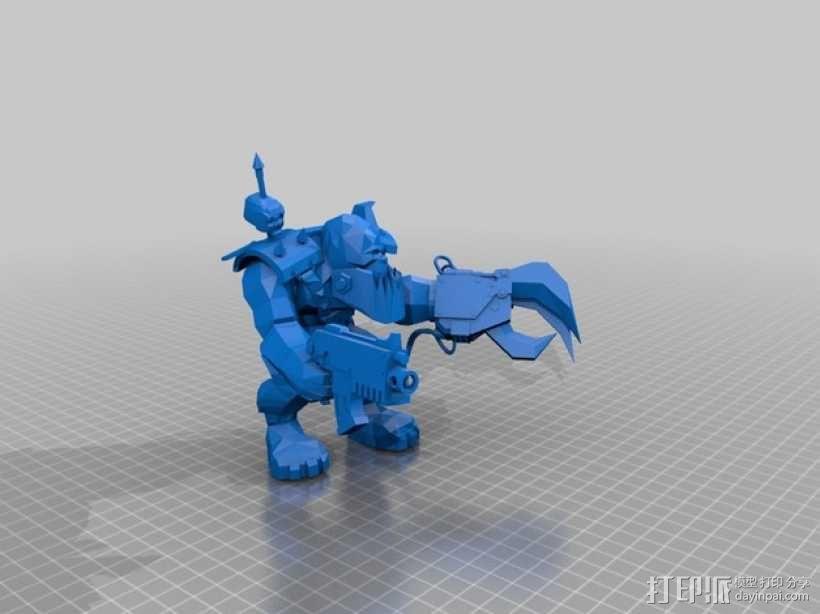 魔兽争霸兽族人模型 3D模型  图2