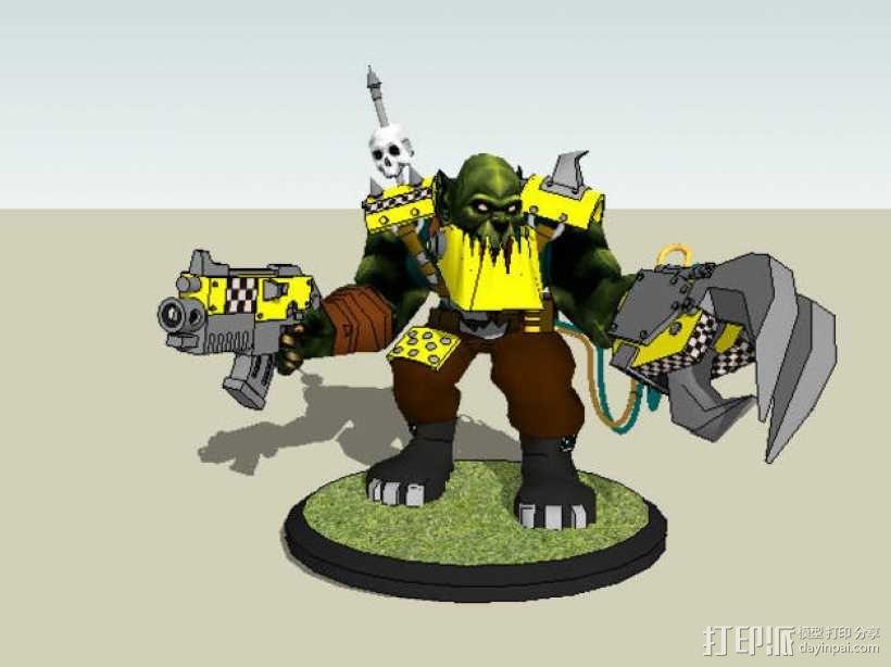 魔兽争霸兽族人模型 3D模型  图3