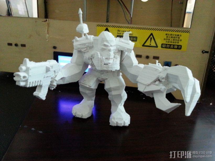魔兽争霸兽族人模型 3D模型  图4