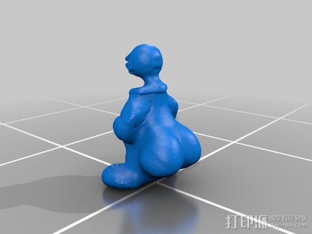 gangsta鸭子模型 3D模型  图2