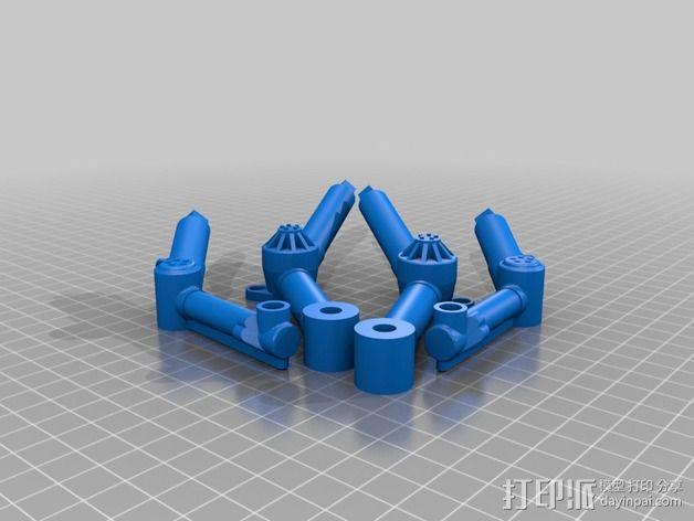 火星漫游车 3D模型  图2