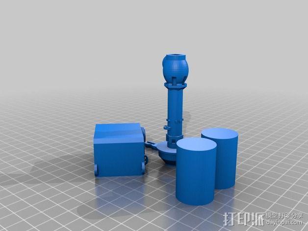 火星漫游车 3D模型  图3