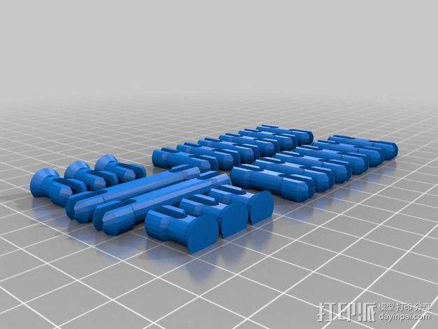 火星漫游车 3D模型  图6