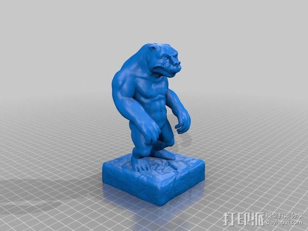 牛魔王 3D模型  图2