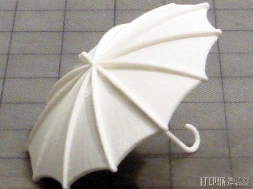 雨伞  3D模型  图1