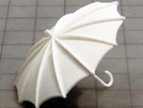 雨伞  3D模型