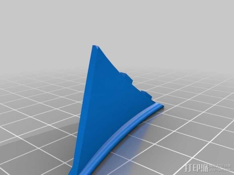 雨伞  3D模型  图4