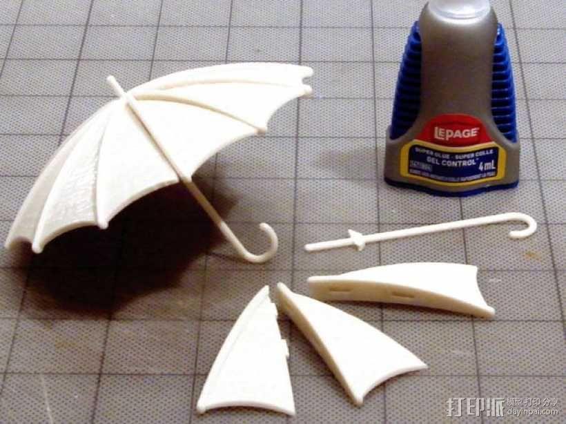 雨伞  3D模型  图5