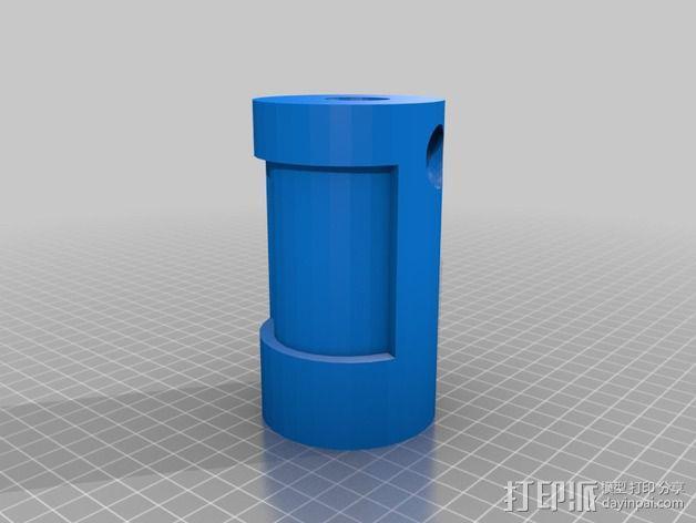 木头人 3D模型  图2