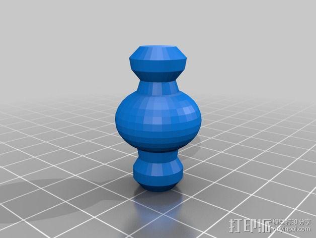 木头人 3D模型  图3