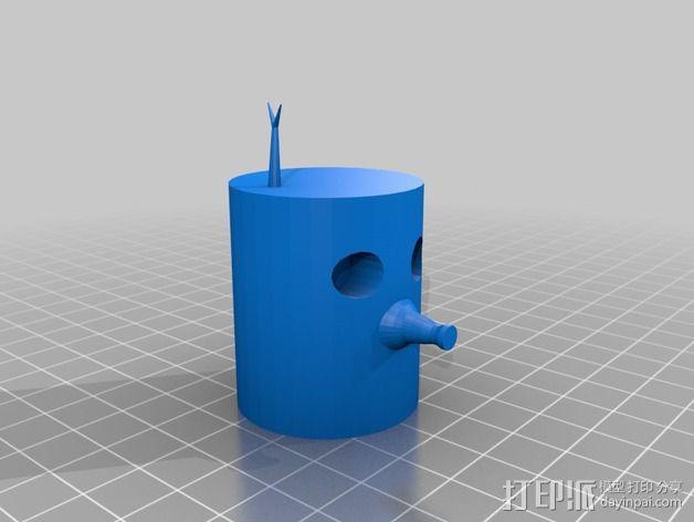 木头人 3D模型  图4