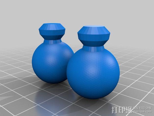 木头人 3D模型  图6
