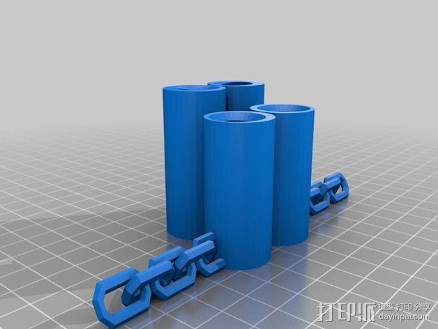 木头人 3D模型  图7